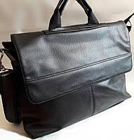 Мужская сумка портфель 7415 черный.Мужские сумки портфели оптом в Украине.