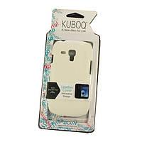 Чехол-кожаная накладка Kuboq для Samsung S3 mini (i8190) (Самсунг с3 мини, с 3 мини, галакси с3 мини)