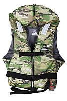 Спасательный жилет камуфляж Vulkan Neon kamo L (70-90 кг)