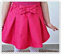 Юбка для девочки с Бантом ,цвета: малина,бирюза,електрик,  РОСТ 116-122-128-134-140-146 СМ , код 0603, фото 6