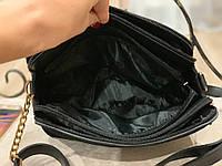 Женская сумка кросс-боди!!!,натуральная замша и кож.зам,3 отделения, фото 4