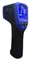 Пирометр FLUS IR-871 (-50…+2280 С) с термопарой К-типа (-50℃ до +1370℃) 50:1, картой памяти, ПО, фото 1