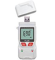 Регистратор температуры и влажности Flus ET-176 (-40°C...+70°C; 0-100%) PDF, фото 1