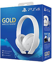 Наушники Wireless Stereo Headset Gold White Edition ps4