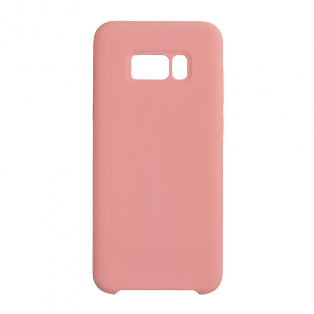 Чехол Silk Silicon для Samsung Galaxy S8 Plus Pink (44357)