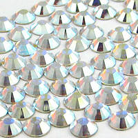 Стразы стекло Crystal AB (хамелеон), ss10 (3мм), 50шт