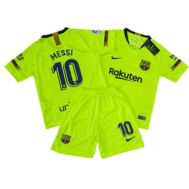 Футбольная форма детская ФК Барселоны Месси сезон 2018-2019г