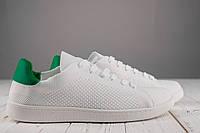 Кеды мужские легкие белые без бренда, фото 1