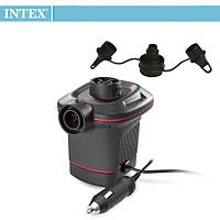 Электрический насос для надувания Intex 66636 от прикуривателя (12 V), фото 1