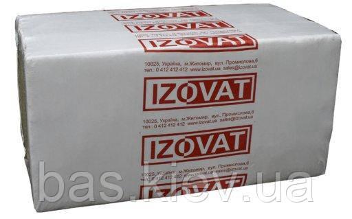 Базальтовая вата IZOVAT 135 плотность, 120 мм, уп. 1,2 м2