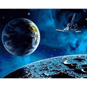 """Картина по номерам """"На Луну и обратно"""", 40x50 см Babylon"""