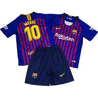 Футбольная форма для детей ФК Барселоны Месси сезон 2018-2019г, фото 1