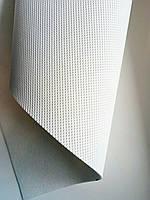 Отрез Кожзам белый (полуперфорация) 35*30см