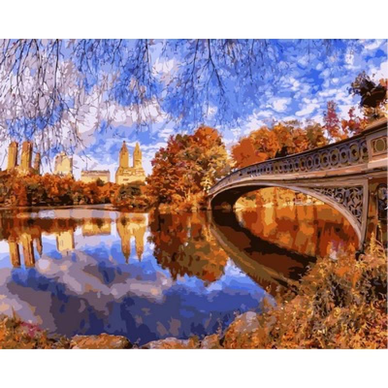 Картина по номерам Центральный парк в Нью-йорке, 40x50 см Babylon