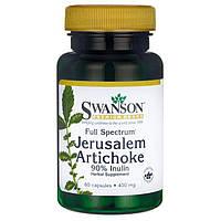 Иерусалимский артишок, Полный спектр, Full Spectrum Jerusalem Artichoke, витамины для печени