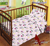 Детский комплект Панда розов., фото 1