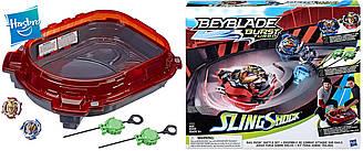 Beyblade Арена и 2 волчка Турбо 4 сезон оригинал от Hasbro BEYBLADE Burst Turbo