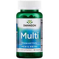 Поливитамины для мужчин, Swanson, 90 таблеток