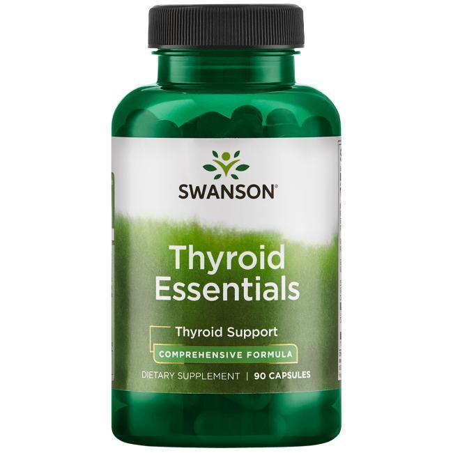 Комплекс вітамінів для щитовидної залози, Thyroid Essentials, Swanson, 90 капсул