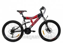 AzimutГорный подростковый велосипед Azimut Tornado 24 D+