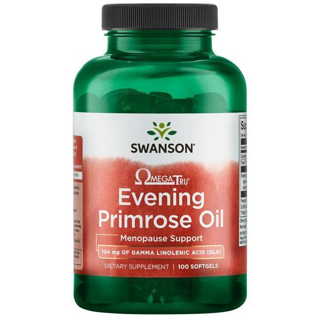 Масло примулы с линоленовой кислотой Evening Primrose Oil Swanson 1300 мг 100 капсул