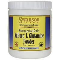 Глютамин аминокислота повышает иммунитет L-Glutamine, 340г порошок, Swanson