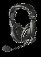 Наушники с микрофоном Trust Quasar Headset (16976) Blac, USB, гарнитура