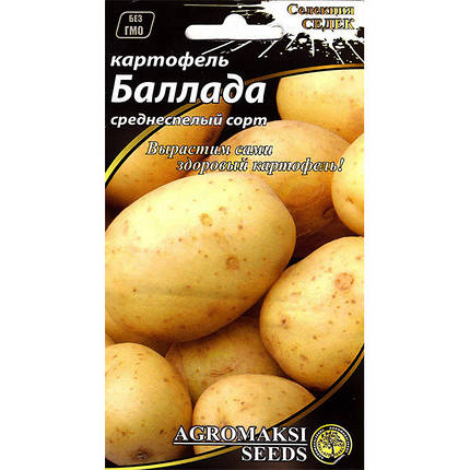"""Семена картофеля среднеспелого """"Баллада"""" (0,01 г) от Agromaksi seeds, фото 2"""