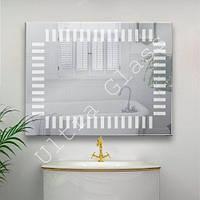 "LED зеркало. ЛЕД зеркало. Зеркало в ванную с LED подсветкой ""рояль""."