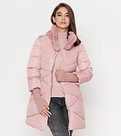 Tiger Force 2108 | Женская куртка на зиму пудра