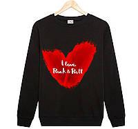 Джемпер I LOVE ROCK & ROLL жіночий чорний