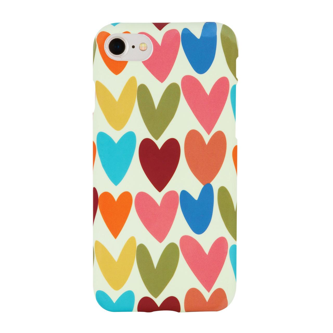 Чехол Oovi для iPhone 7/8 Plus Big Hearts (56561)