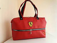 6c6f40ac1e1a Спортивная сумка Ferrari красная в Украине. Сравнить цены, купить ...