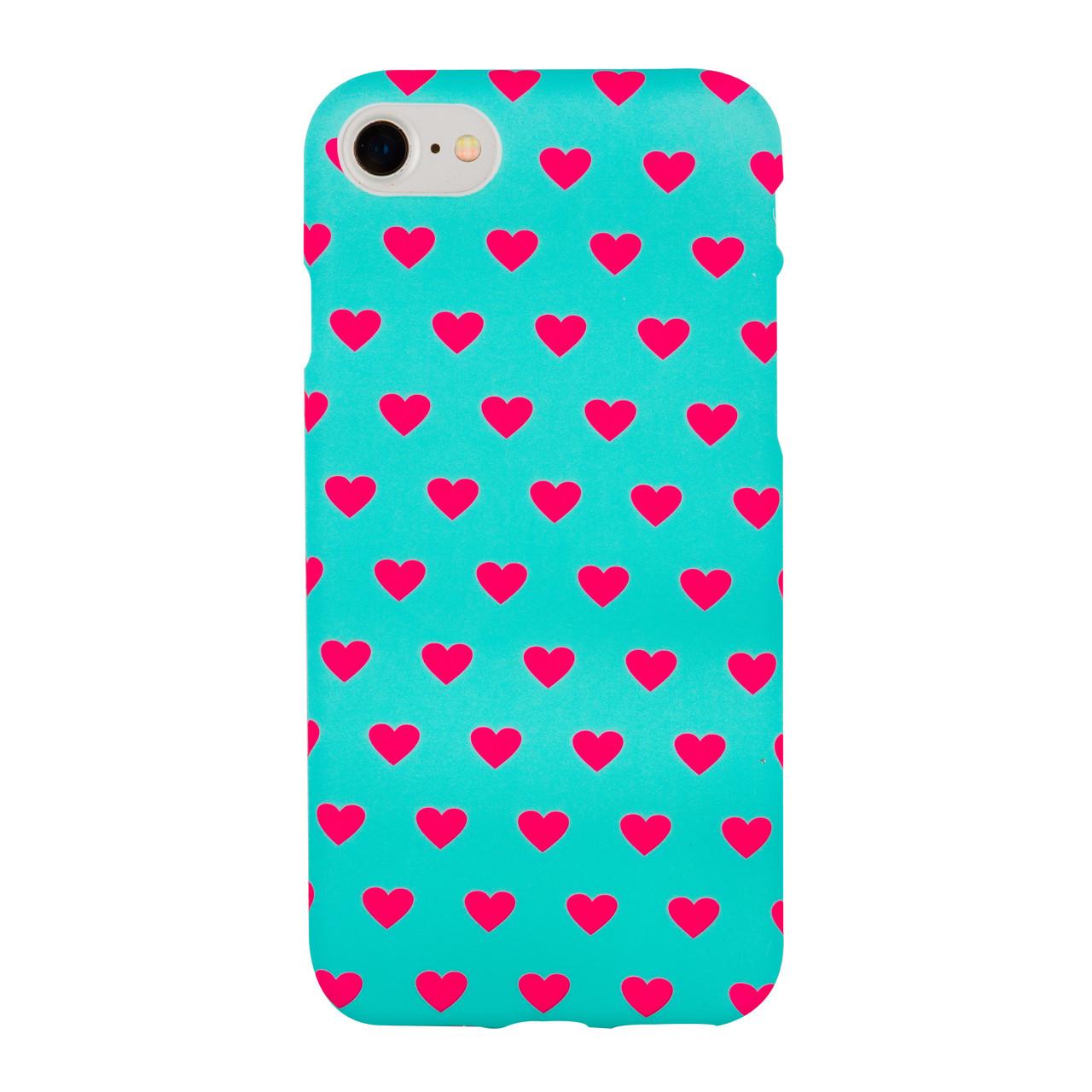 Чехол Ella для iPhone 6/6s Plus Mint Hearts (25845)