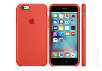 Чехол iPhone 6/6S Plus Silicone Case Orange ( 13902)