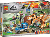 """Конструктор Bela 10920 """"Побег Ти-Рекса"""" (аналог Lego Juniors), 168 дет."""