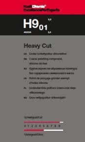 Heavy Cut 9.01 сильно абразивная полироль, паста для полировки, 1 л., фото 2