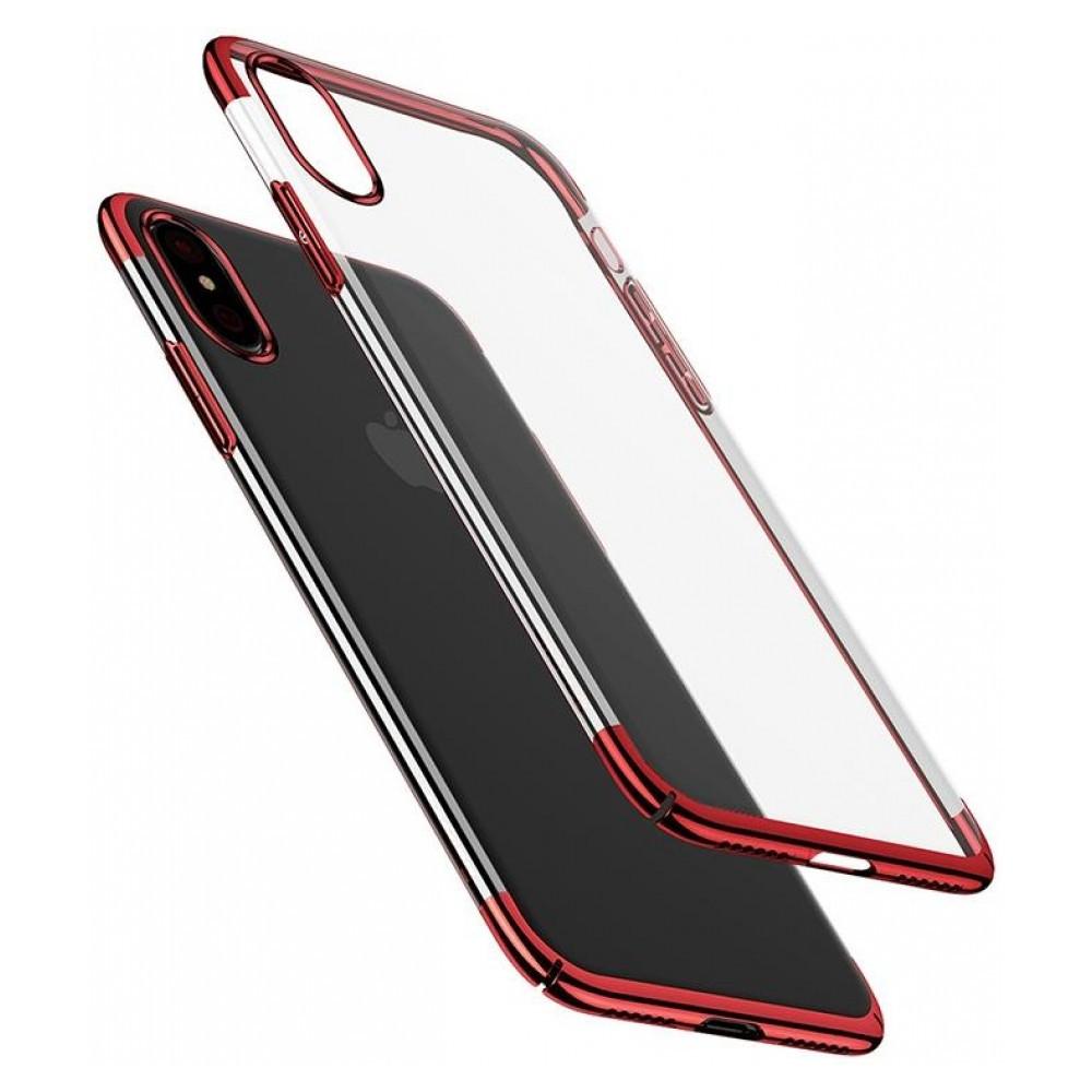 Чехол Mbro Glitter Case для iPhone XS Red (74524)
