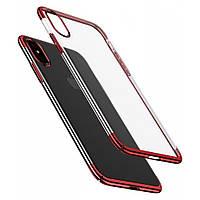 Чехол Mbro Glitter Case для iPhone XS Red (74524), фото 1