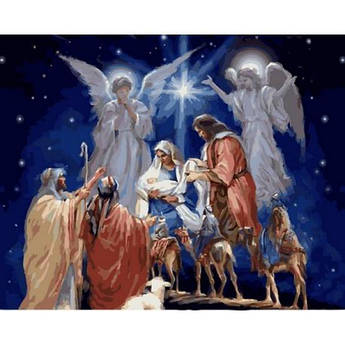 Картина по номерам Дух Рождества, 40x50 см Babylon