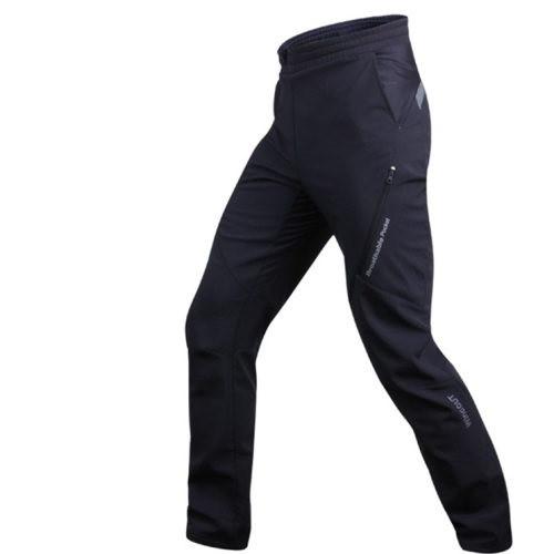 "Зимние непродуваемые утеплёные вело-штаны Sobike ""Shark"" с памперсом"