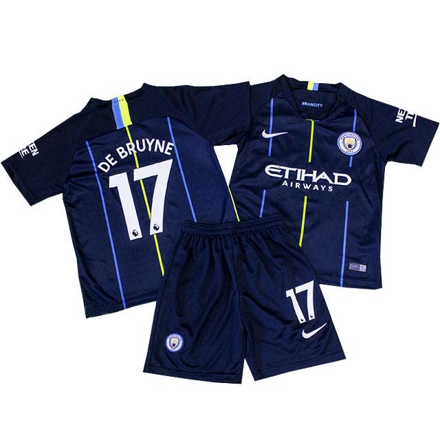 Детская футбольная форма ФК Манчестер Сити De Bruyne 2018-2019г