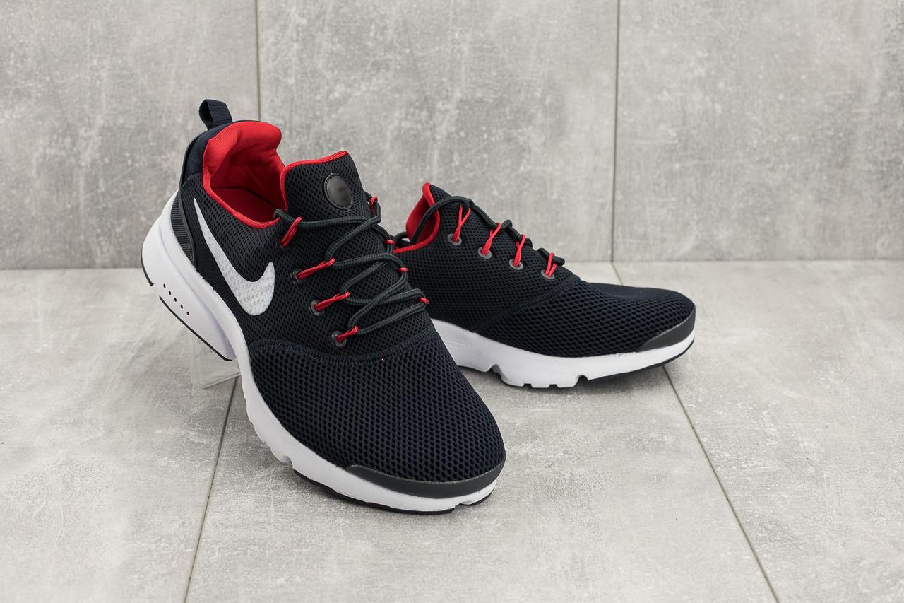 Кроссовки G 9393-3 (Nike Presto) (весна/осень, мужские, сетка плотная, синий-красный)