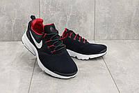 Кроссовки G 9393-3 (Nike Presto) (весна/осень, мужские, сетка плотная, синий-красный), фото 1