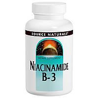 Ниацинамид В3, Source Naturals, 100 мг, 250 таблеток