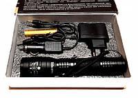 Фонарик светодиодный Bailong Police BL-1C-T6, 18650 mAh 1000 люмен, тактический аккумуляторный фонарик, Акция!