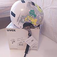 №57. Велошлем UVEX Kid 3 55-58 cm White Flower, фото 1