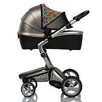 Солнцезащитный козырек (Кап) Color Double Shade на коляску двойной, фото 1