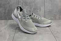 Кроссовки G 5085-1 (Nike Epic React) (весна-осень, мужские, текстиль, серый), фото 1