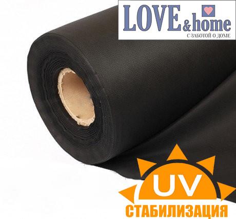 Агроволокно чорне, щільність 50г/м2. 100м., 1.6 м.